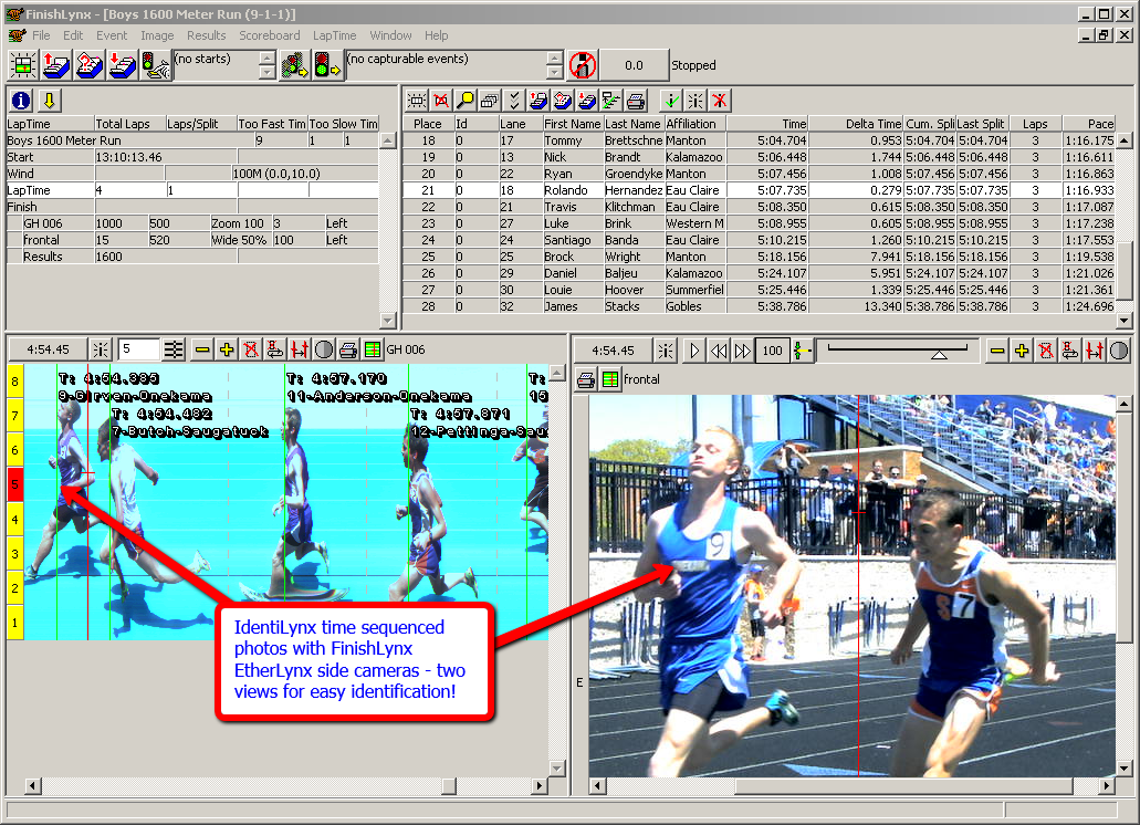 The Value Of Identilynx Used With Finishlynx Fat Timing